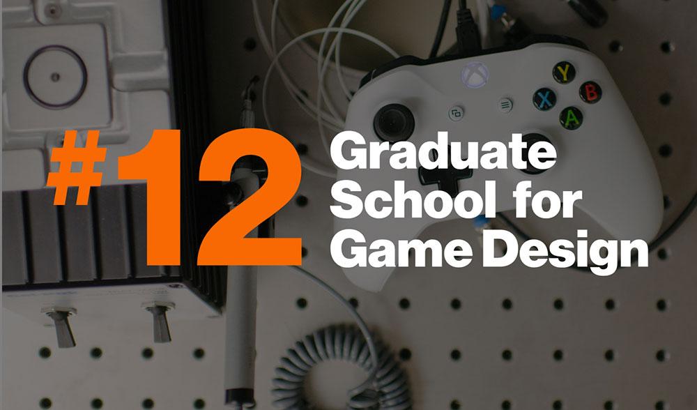 Number 12 school for graduate game design