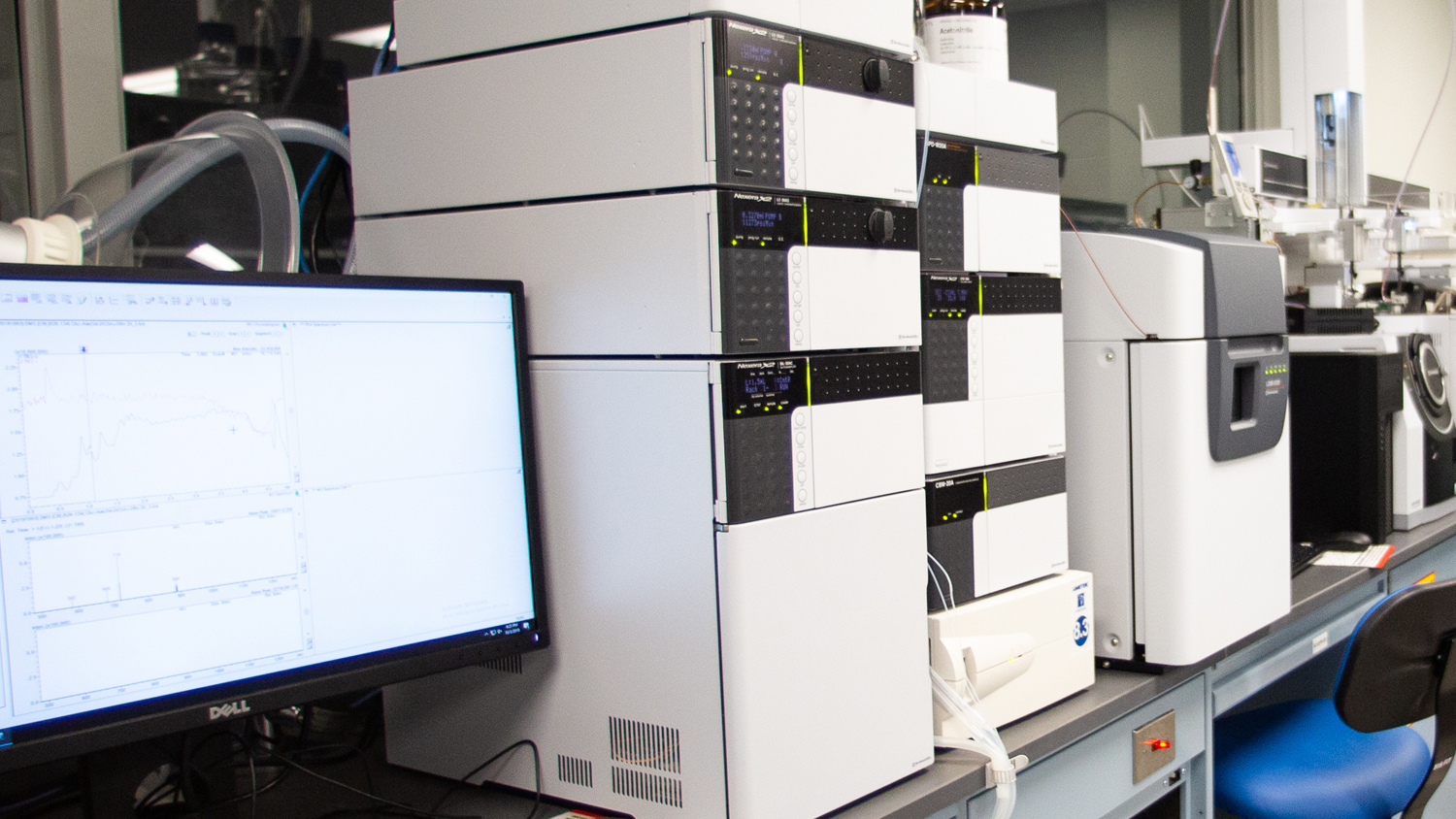 instruments in chemical analysis laboratory