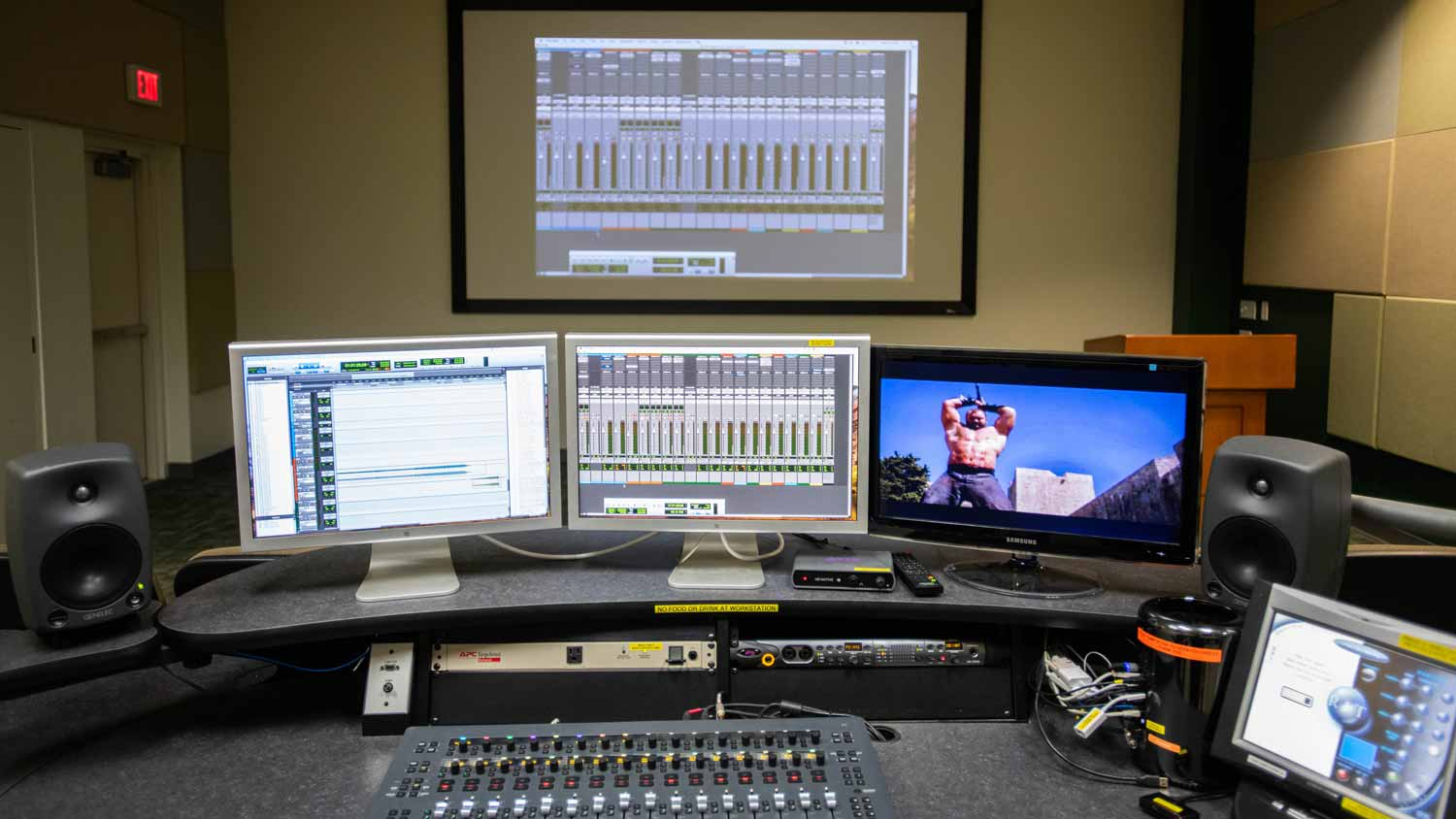 Sound mixing workstation