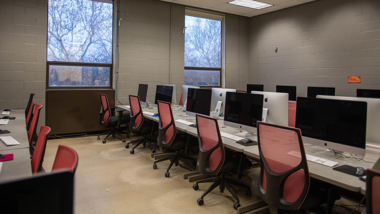 Mac computer lab