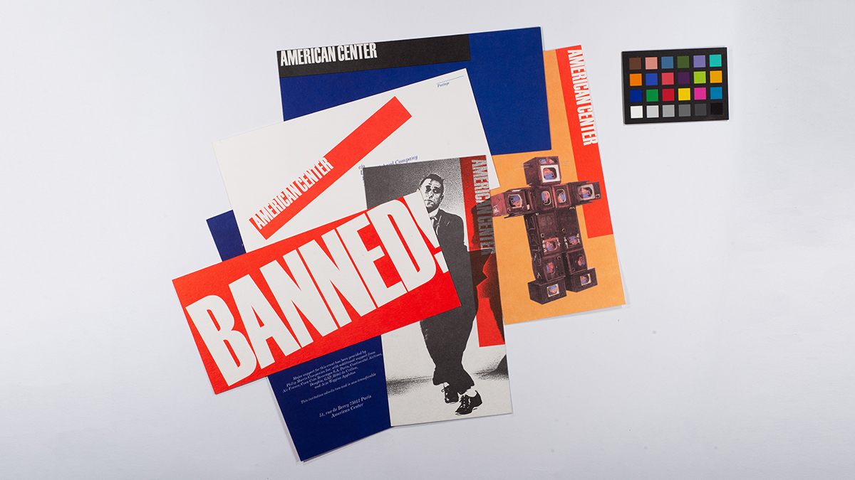 Print material designed by the Vignellis. For the Vignelli digital image archive.