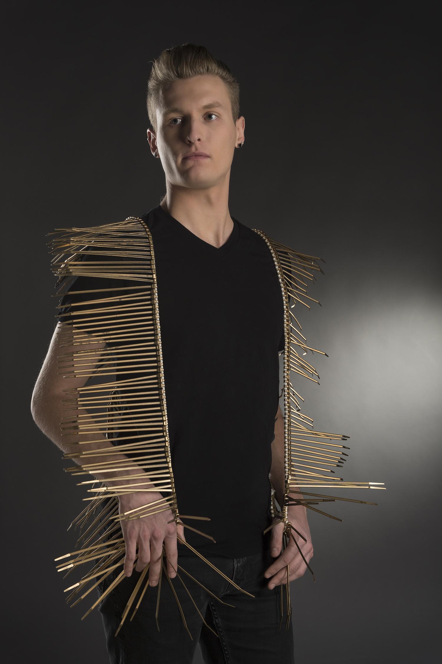 A fashion piece designed by Brett Baker