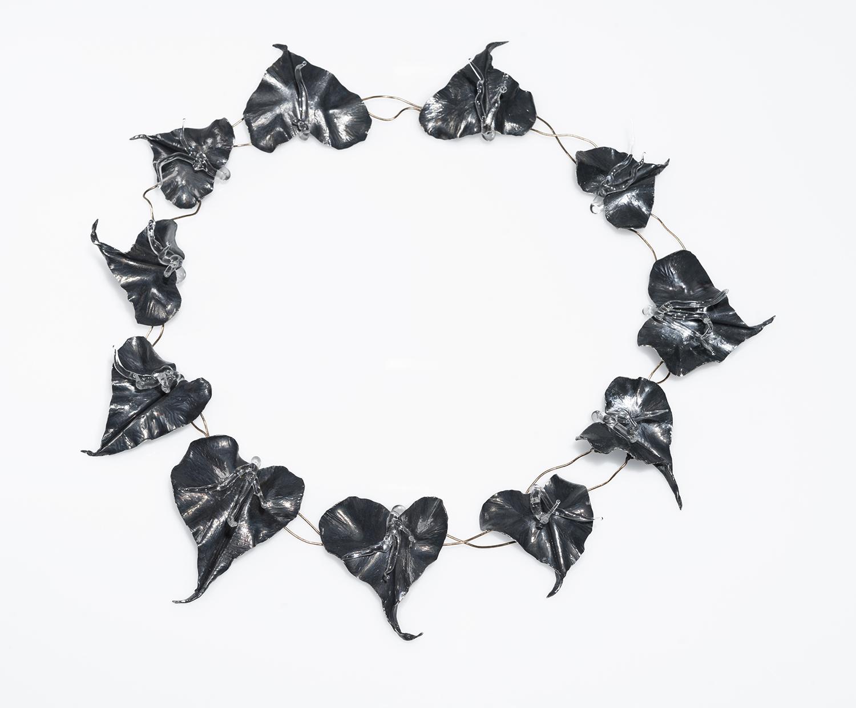A necklace designed by Brett Baker