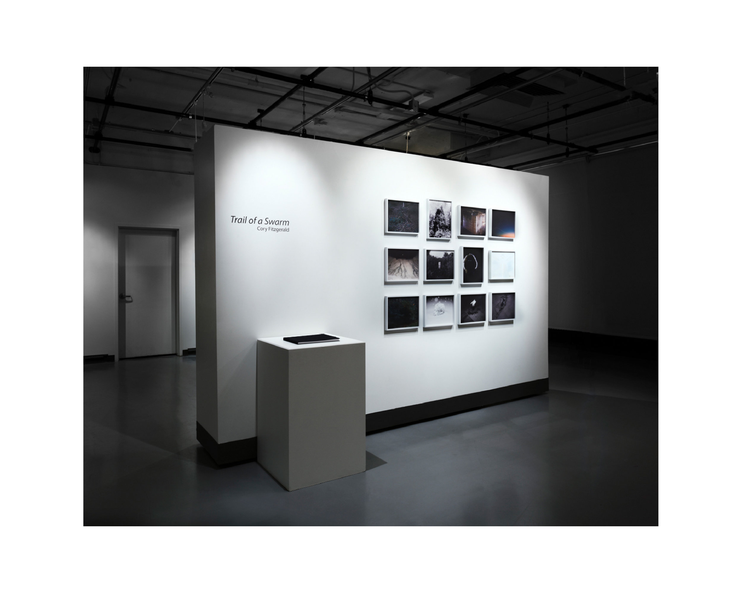 a display of photographs