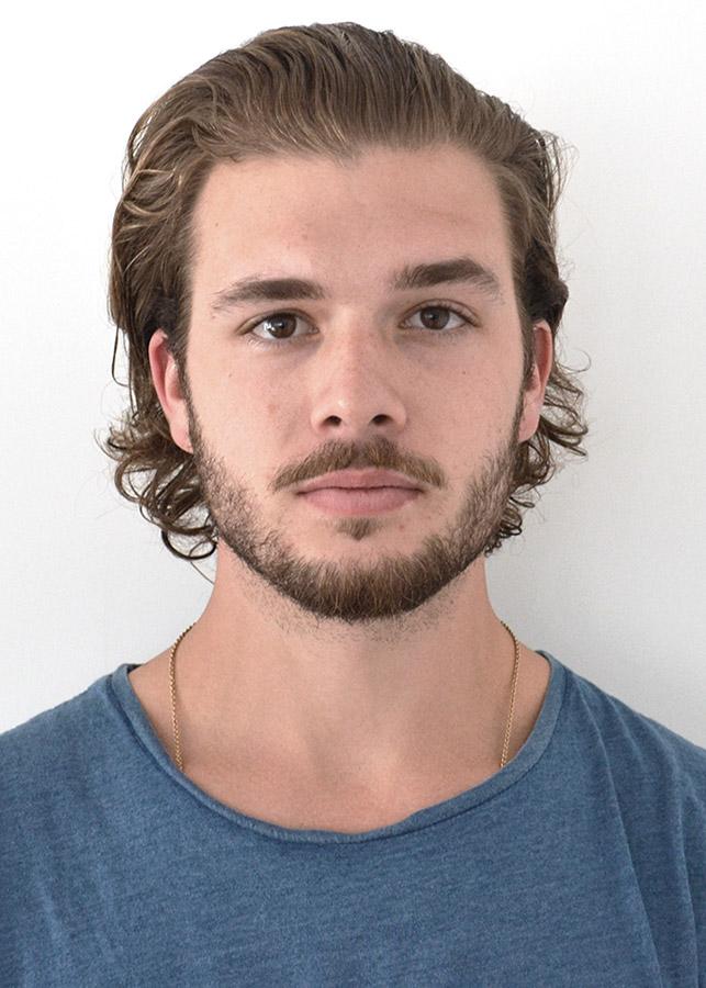 portrait of Matthew Peltier.