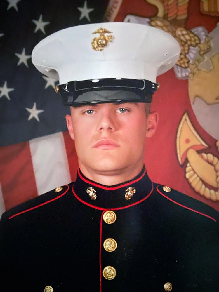 Marine John Fox.