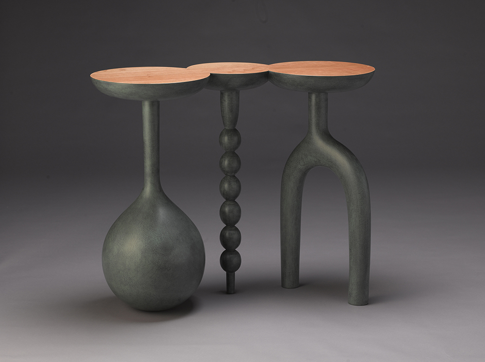 A foyer table by Andy Buck