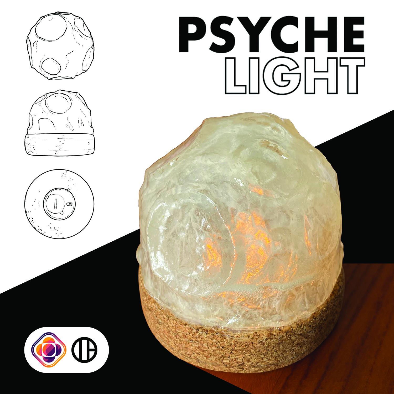 A light-up lamp.