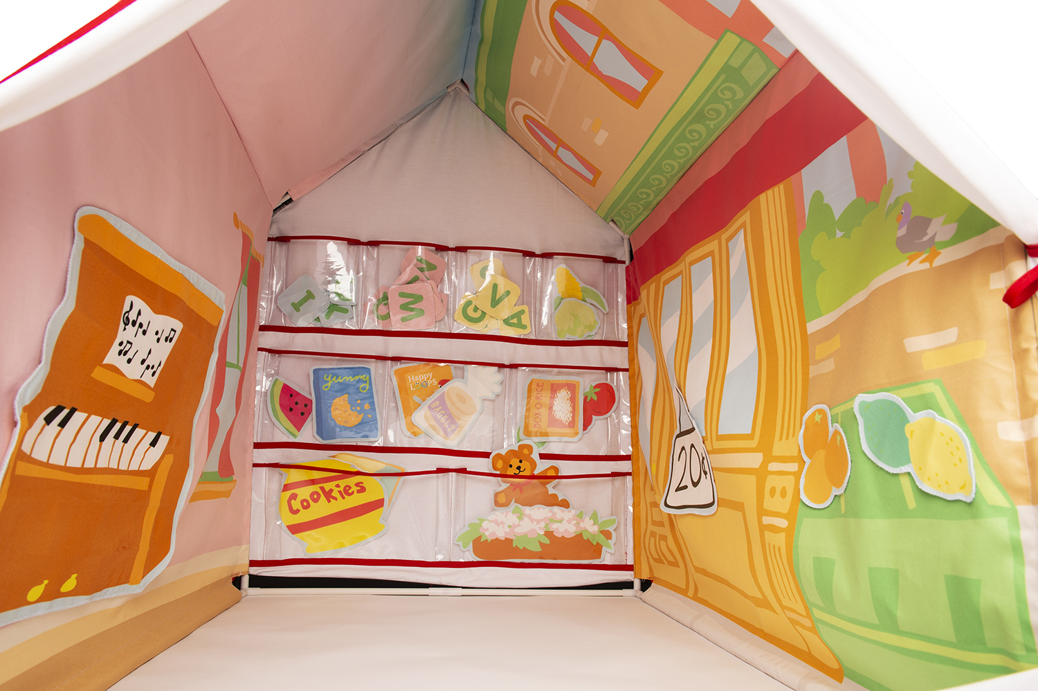 An imagination tent design