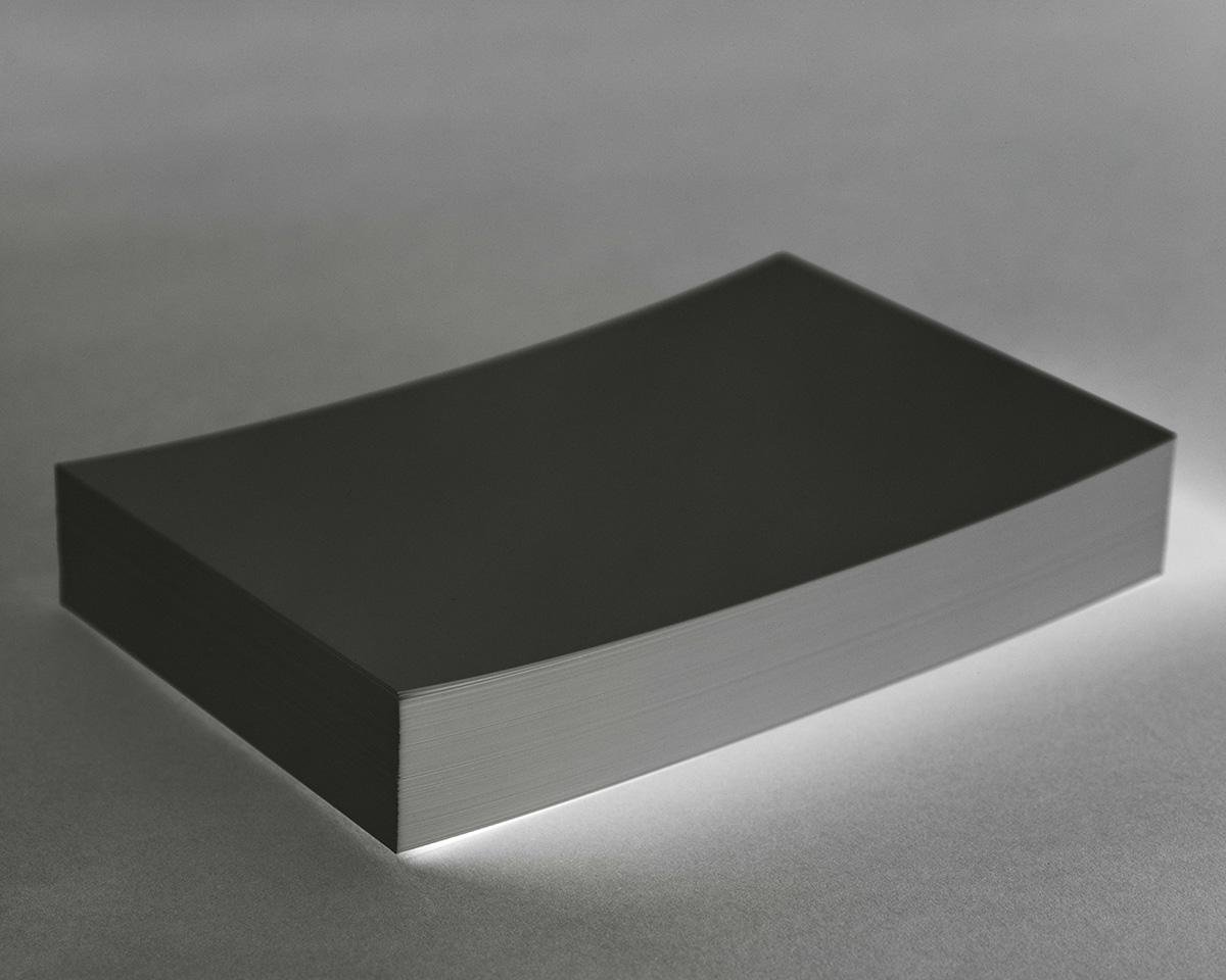 A black box illuminated on the bottom.
