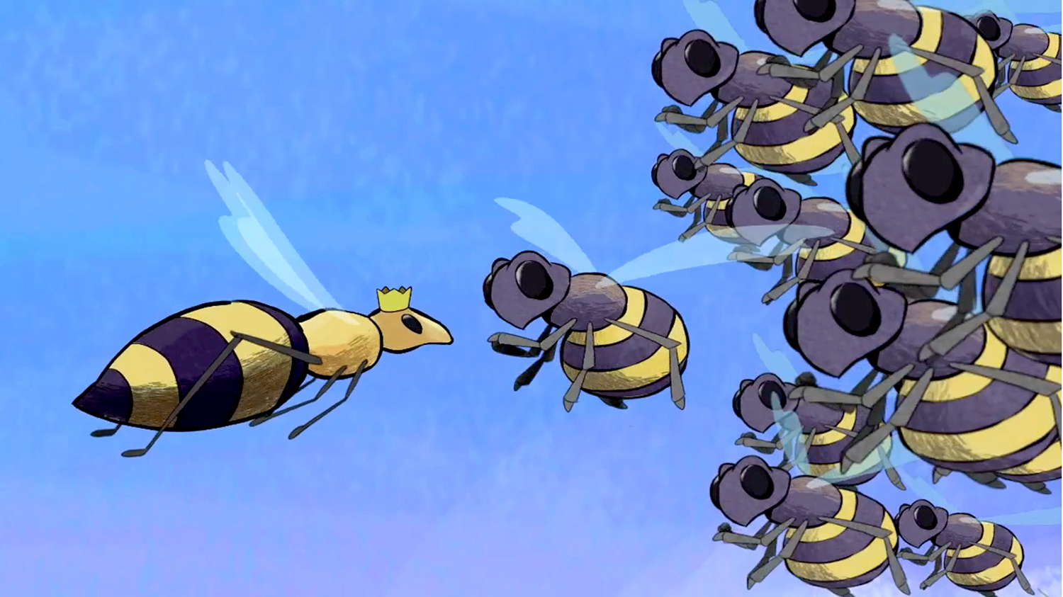 More bees