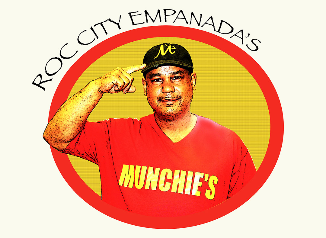 Luis Carasquillo, owner of Munchie's Roc City Empanadas.
