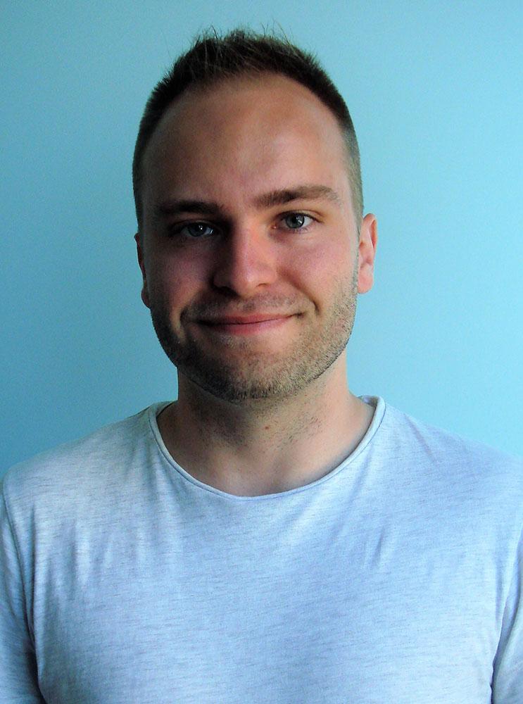 portrait of student Matt Hartensveld.