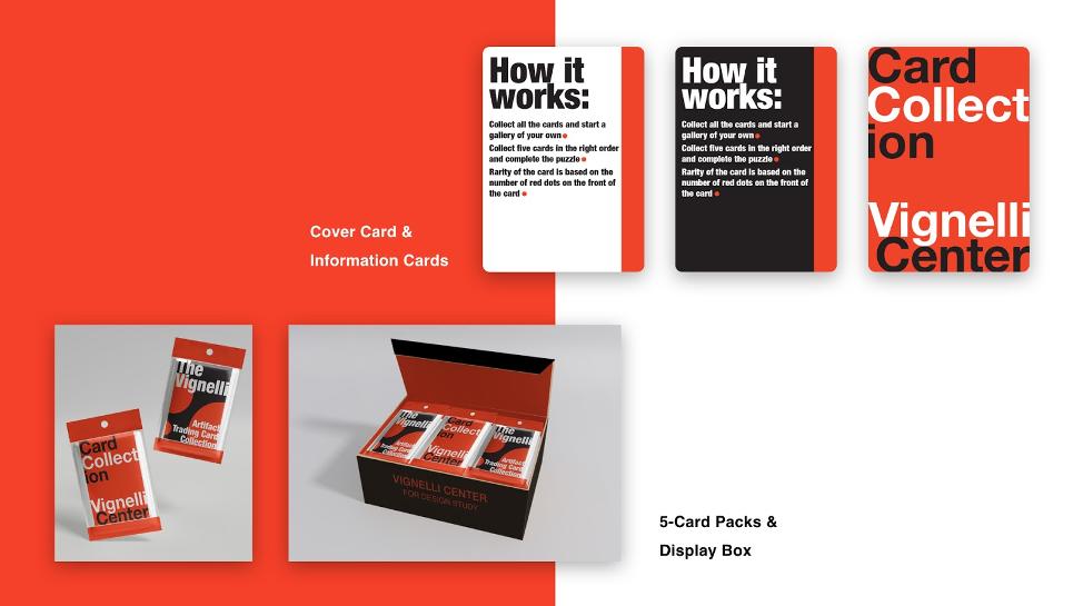 Mockups of card packaging.