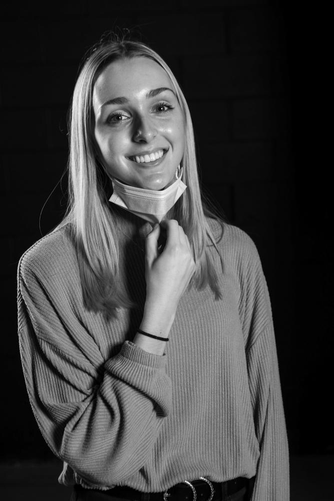 A headshot of Emilie Ravena.