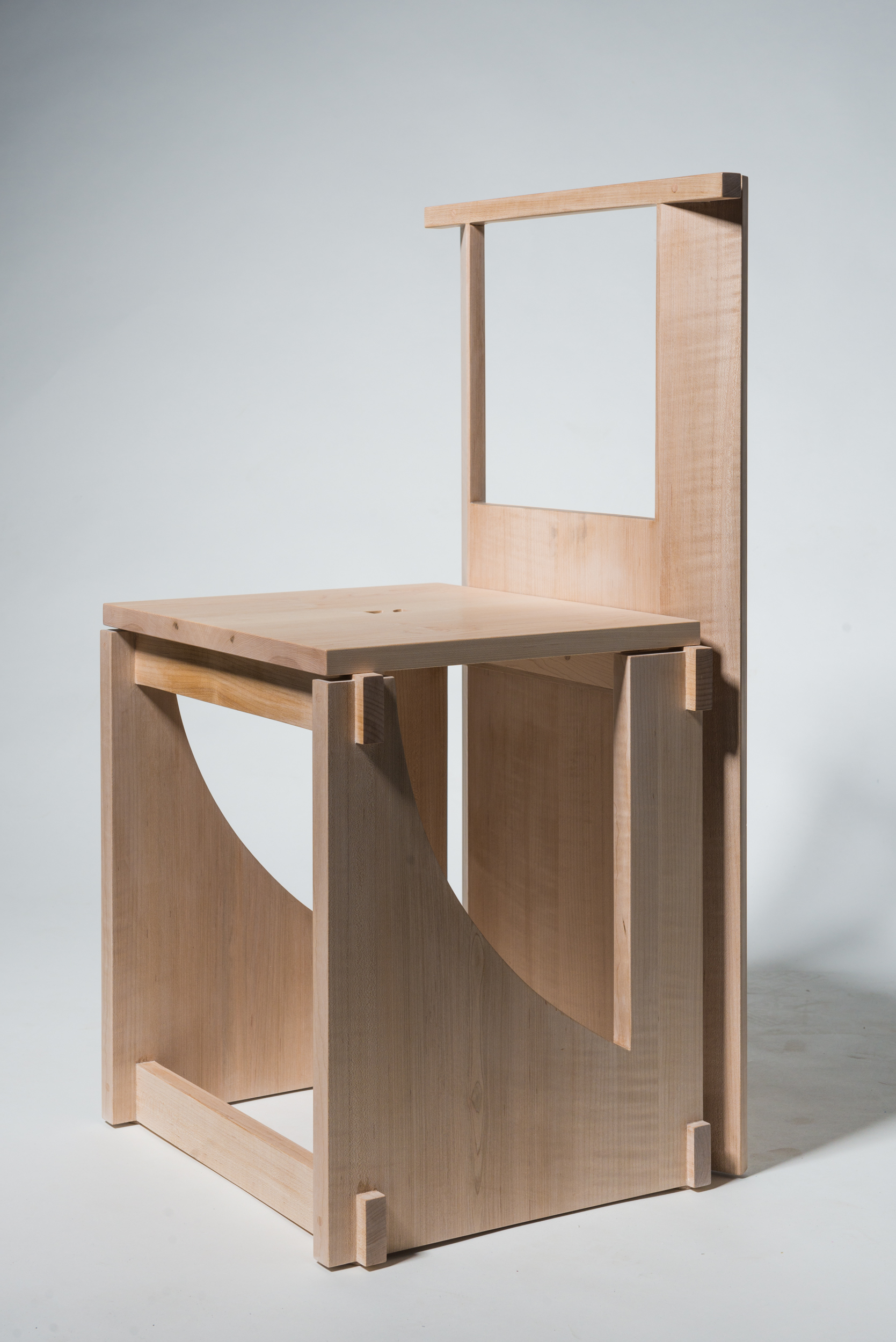 A chair designed by Yichi Cheng