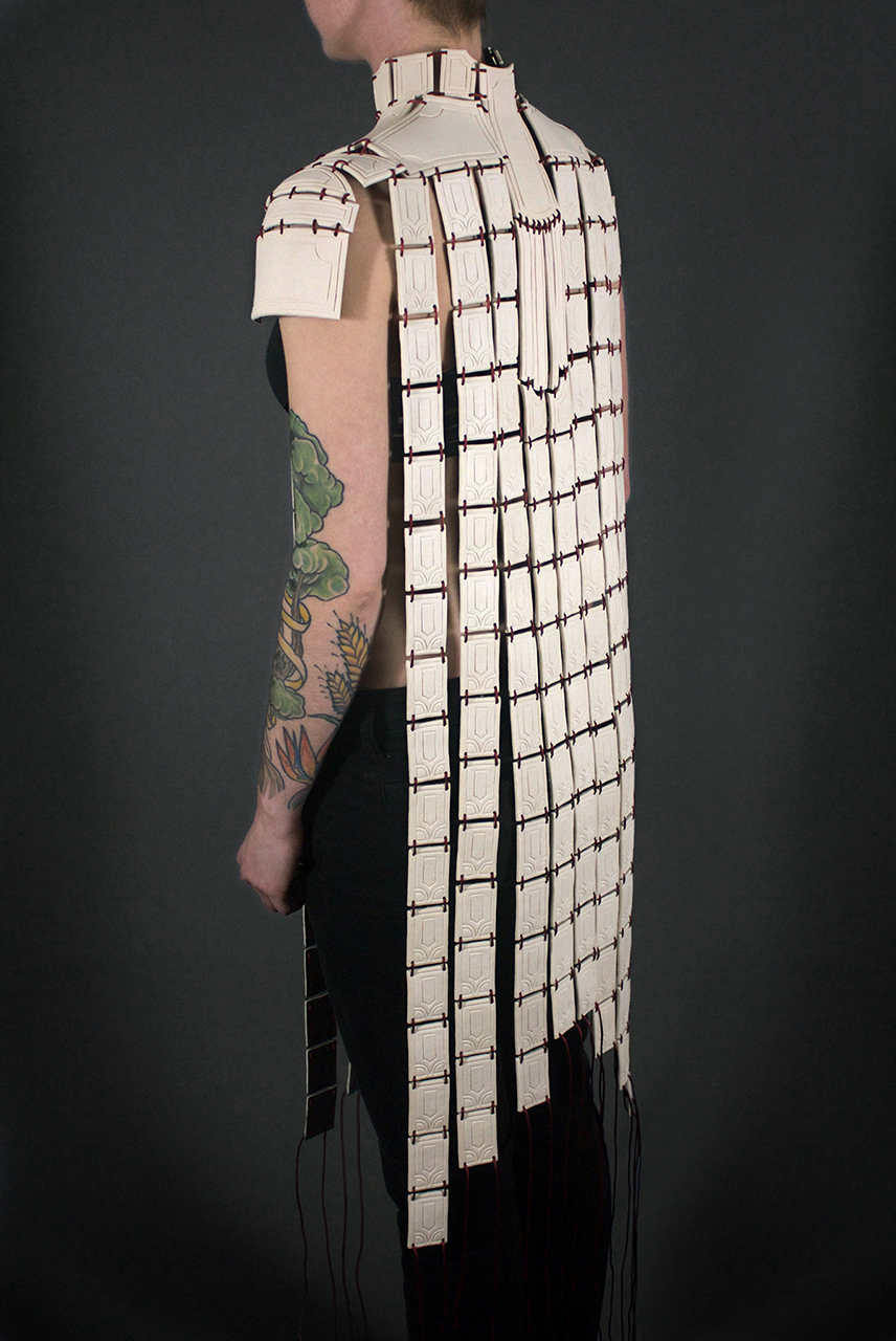 Armor made out of ceramic material