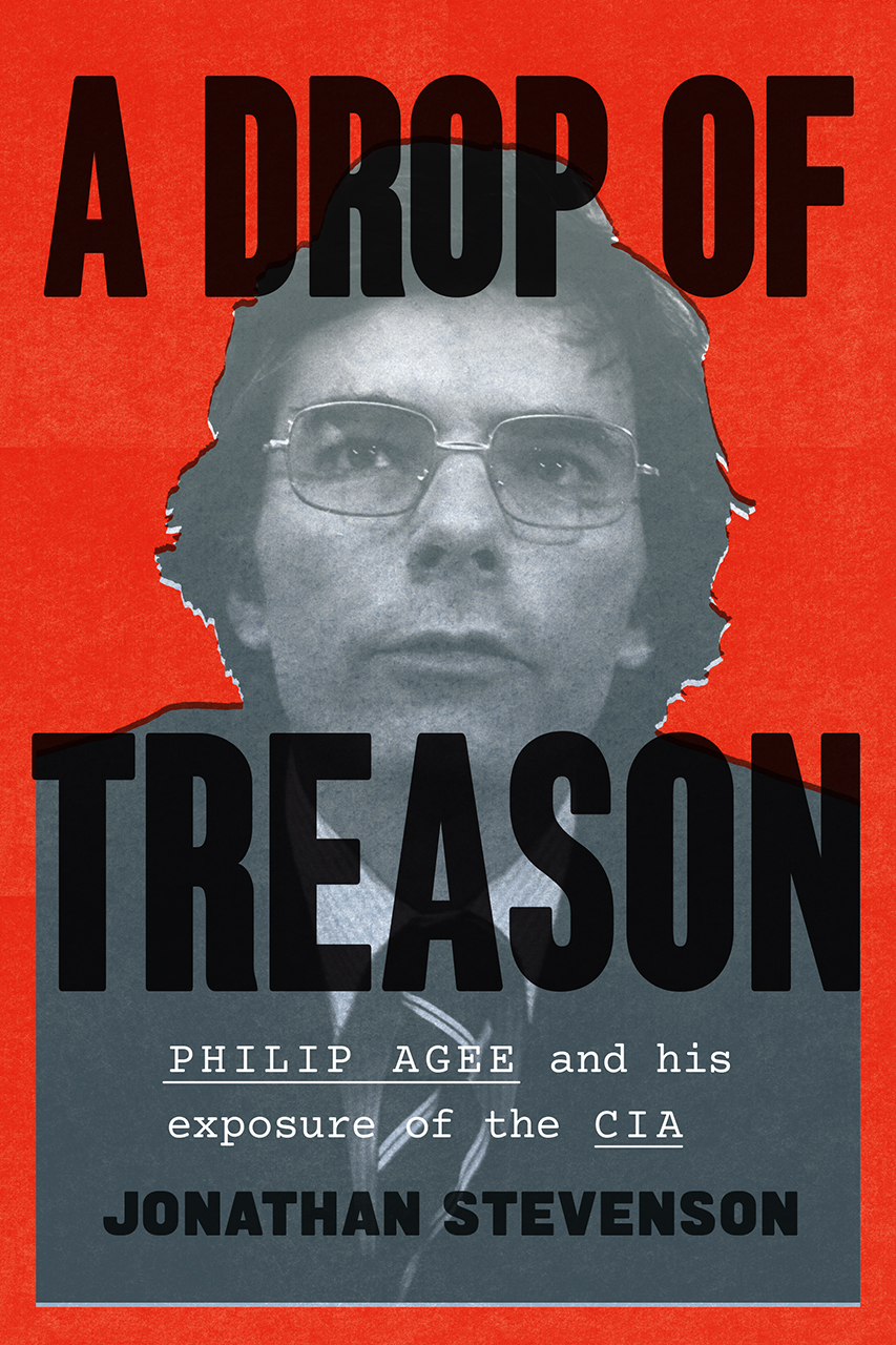 A book cover with the title A Drop of Treason