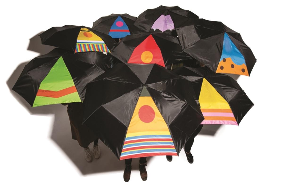 Sesame Street inspired umbrellas