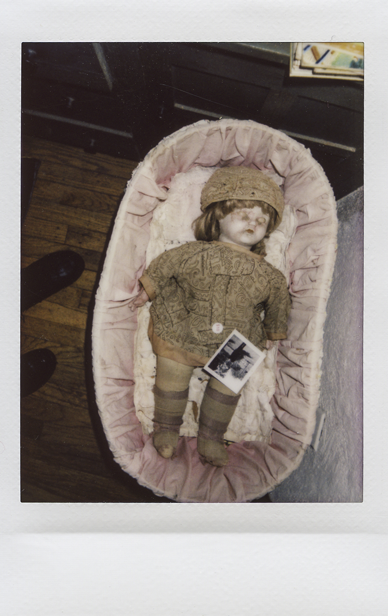 a photo of a doll. This is one of several images by Alexandra Gataeva featured in photo exhibitions around the world.