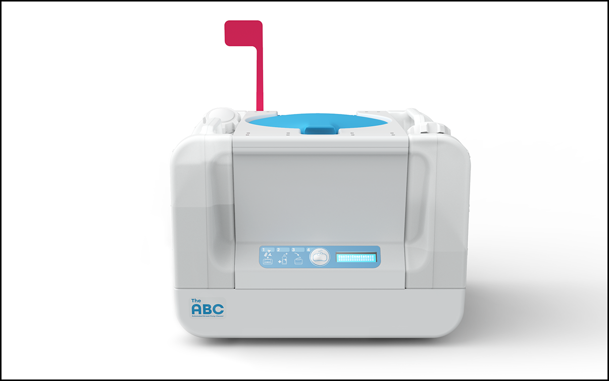 The Automated Breast Pump Cleaner — an innovative healthcare design.
