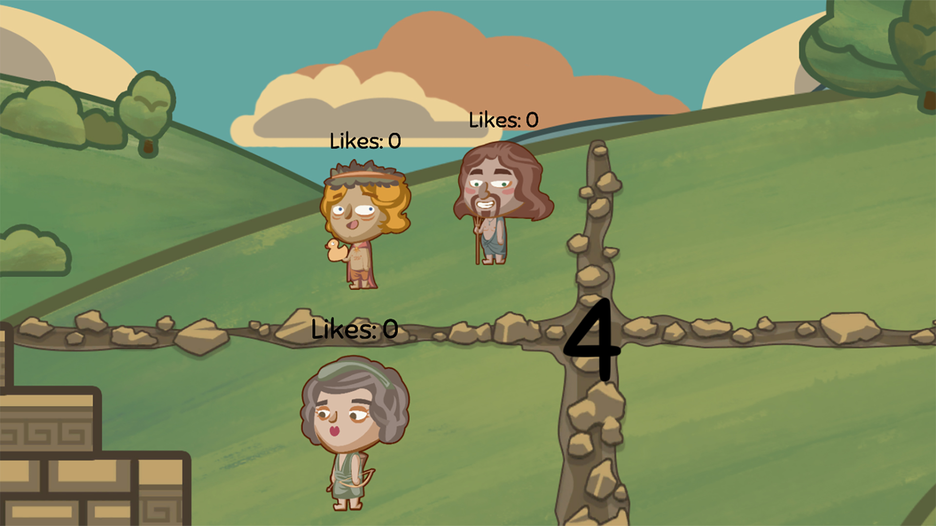Mytholympics gameplay