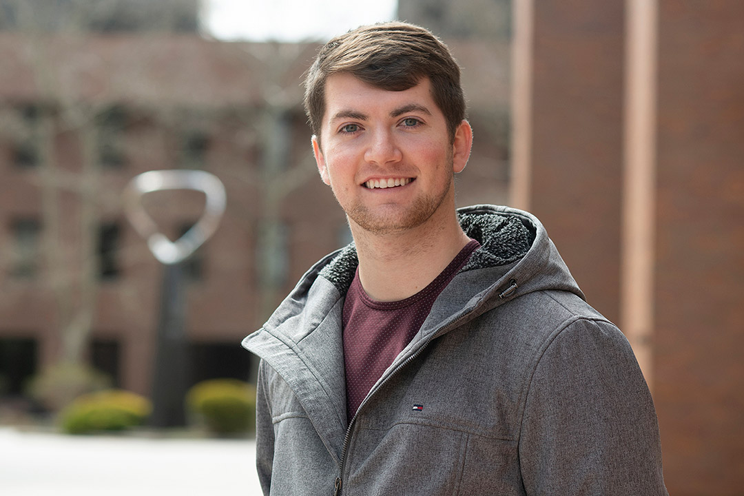 student Sean Mahaney.