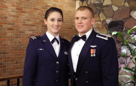 Air Force Rotc Graduates Honored At Military Ball