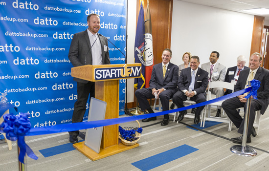 Rit Datto Offices Of Opening Technology Institute Rochester Celebrates New