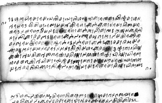 Picture of Ancient Hindu Manuscripts