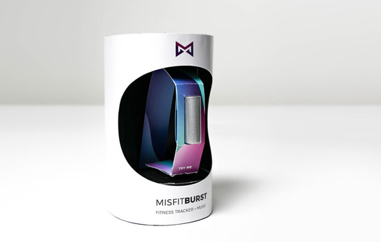 The Misfit Burst in it's packaging.