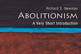 "The cover art for Newman's book ""Abolitionism: A very short introduction."""