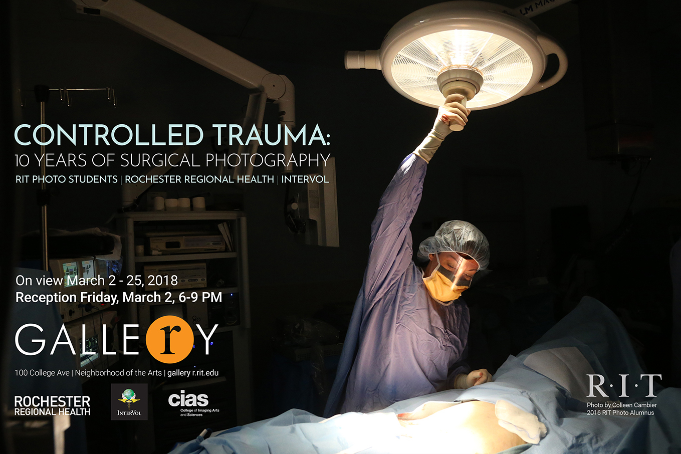 Controlled Trauma photography exhibit takes you inside the