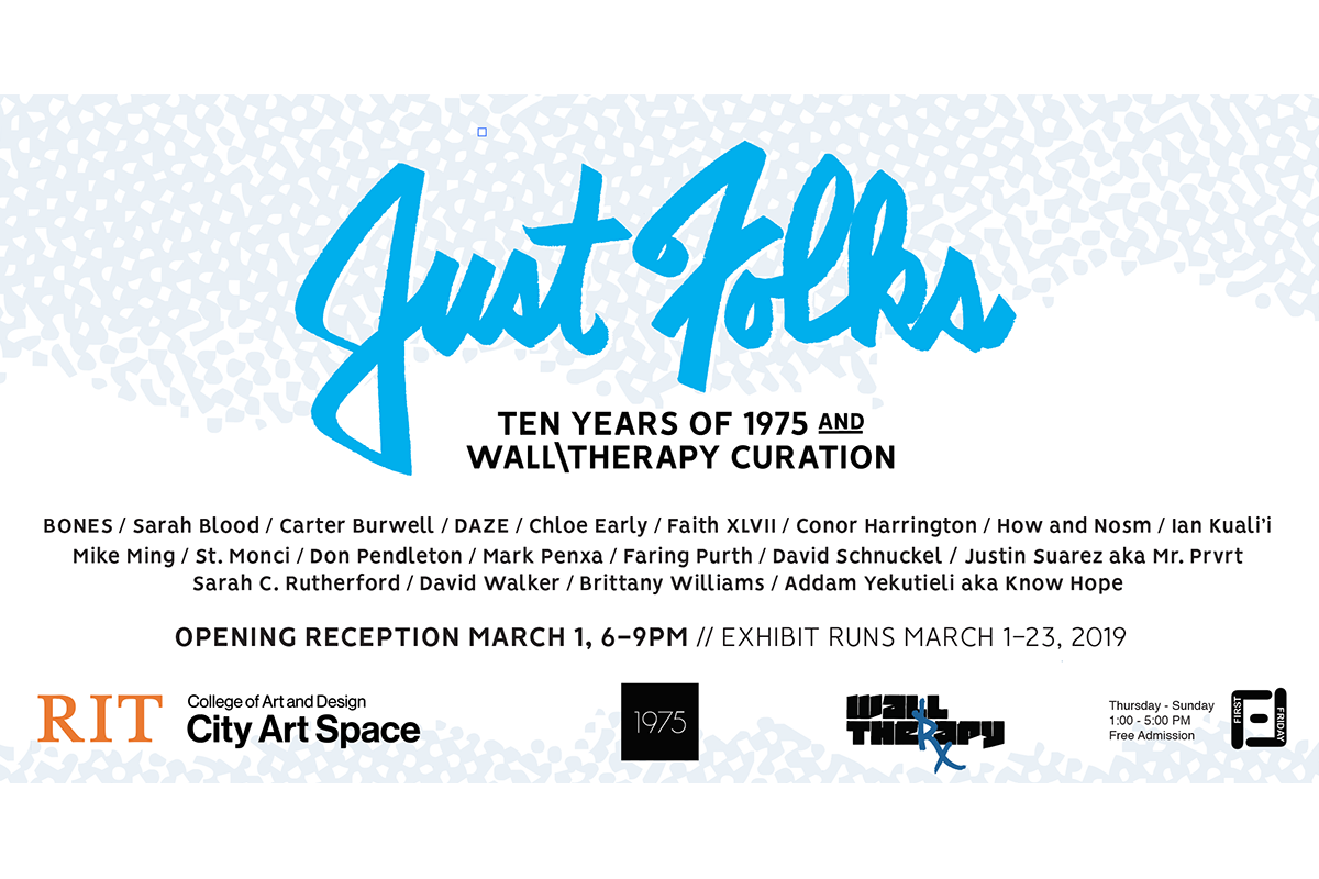 Exhibit highlights 10 years of WALL\THERAPY and 1975