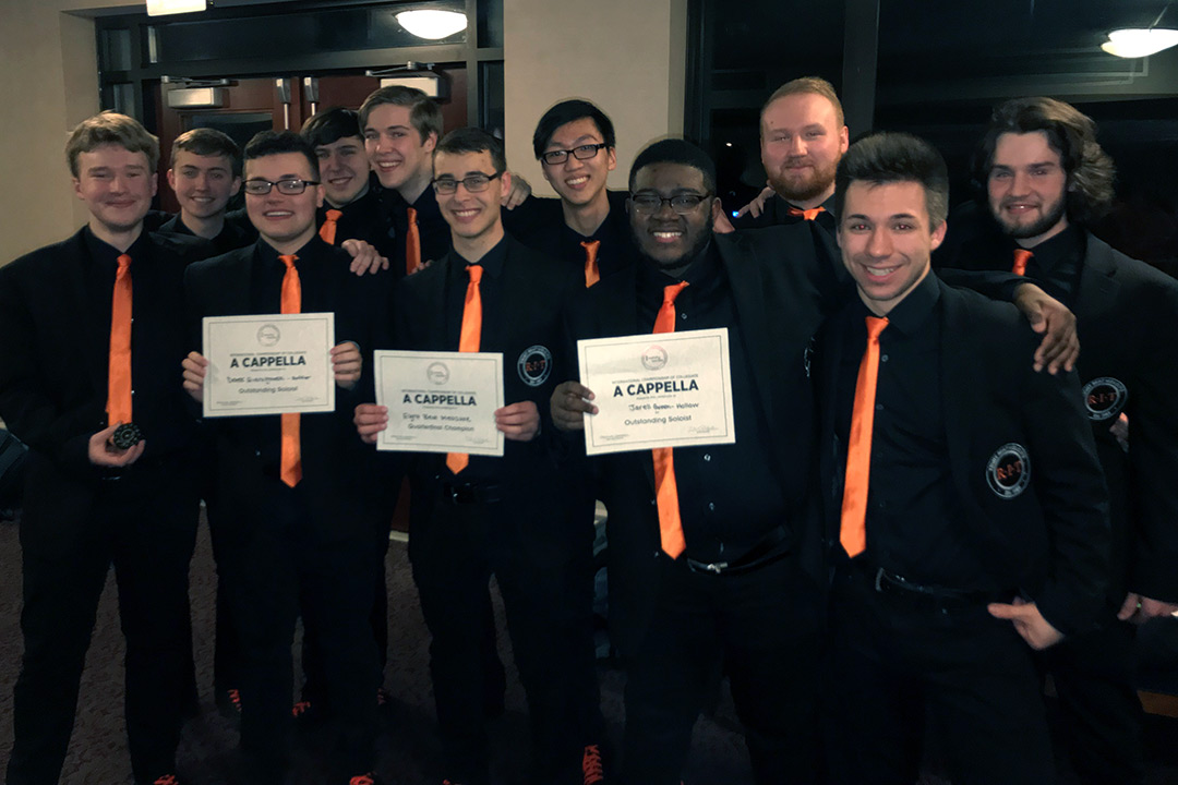 Eight Beat Measure wins a cappella quarterfinals competition