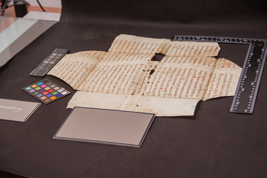 Scientists use multispectral imaging to uncover lost text from manuscripts in Croatia