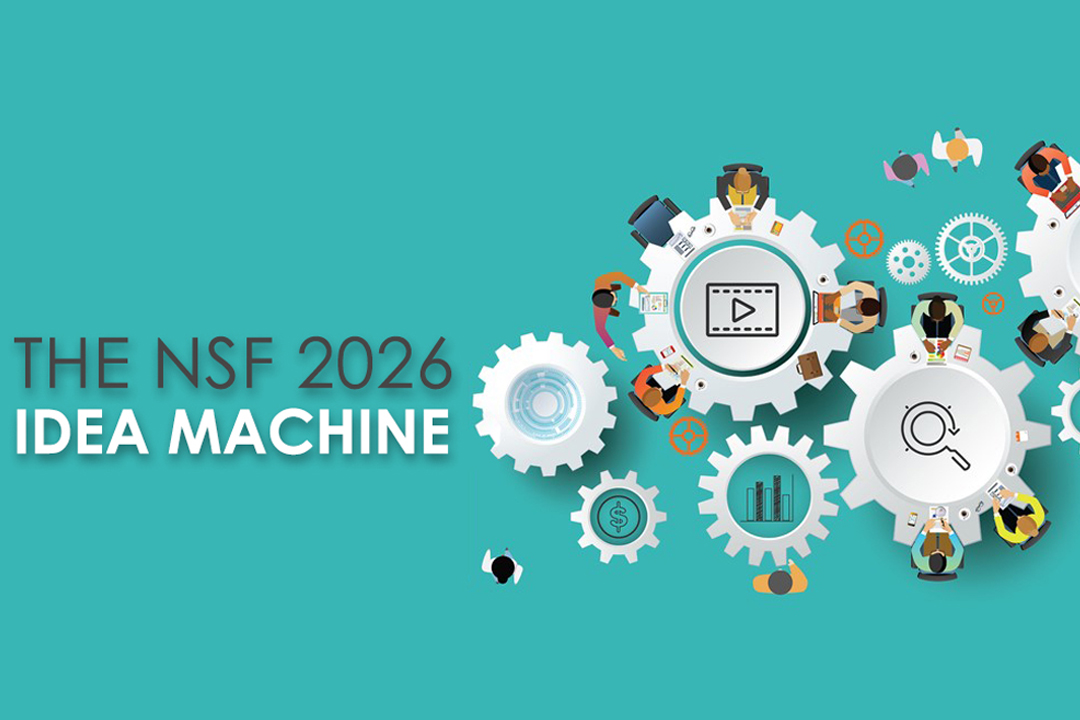 NSF 2026 Idea Machine logo with gears