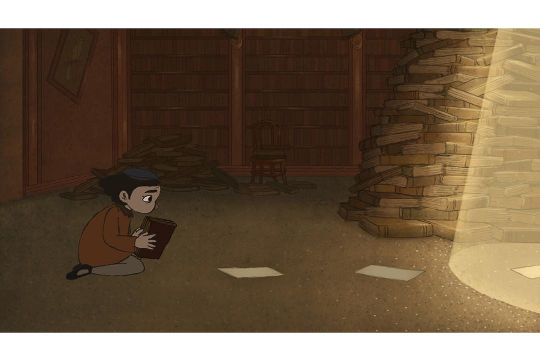 "'A screenshot of the film ""The Warsaw Robin""'"