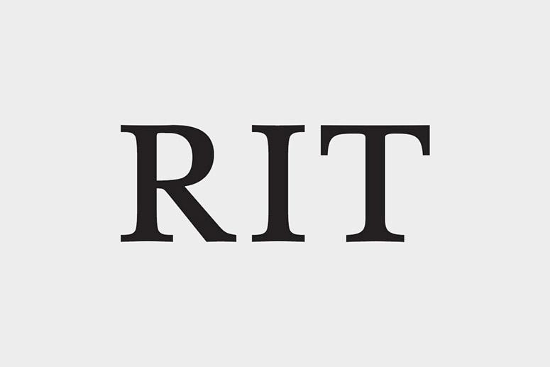 'RIT logo.'