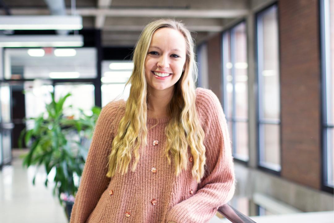 photo of graduate student Alexandria Shumway
