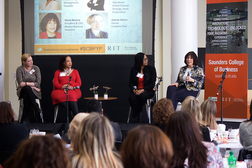 Rochester's top women business leaders featured at RIT leadership conference