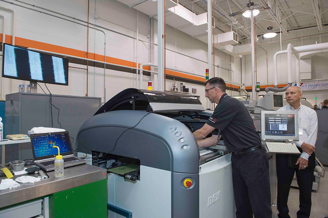 New surface mount technology equipment added to RIT's Center for Electronics Manufacturing and Assembly
