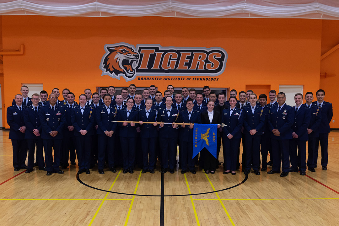 group of ROTC cadets.