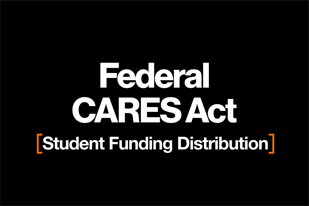 Federal CARES Act: Student Funding Distribution.