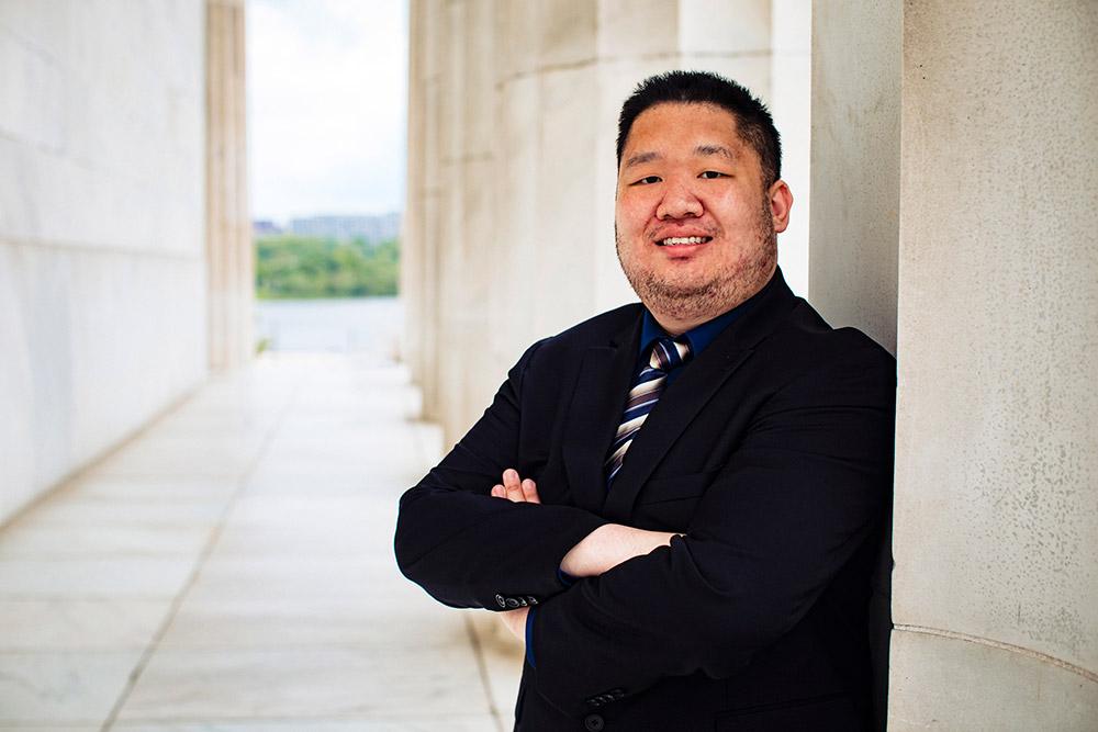 student Peter Yeung.