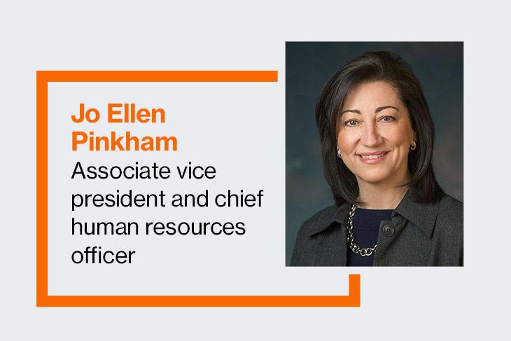 Jo Ellen Pinkham, associate vice president and chief human resource officer
