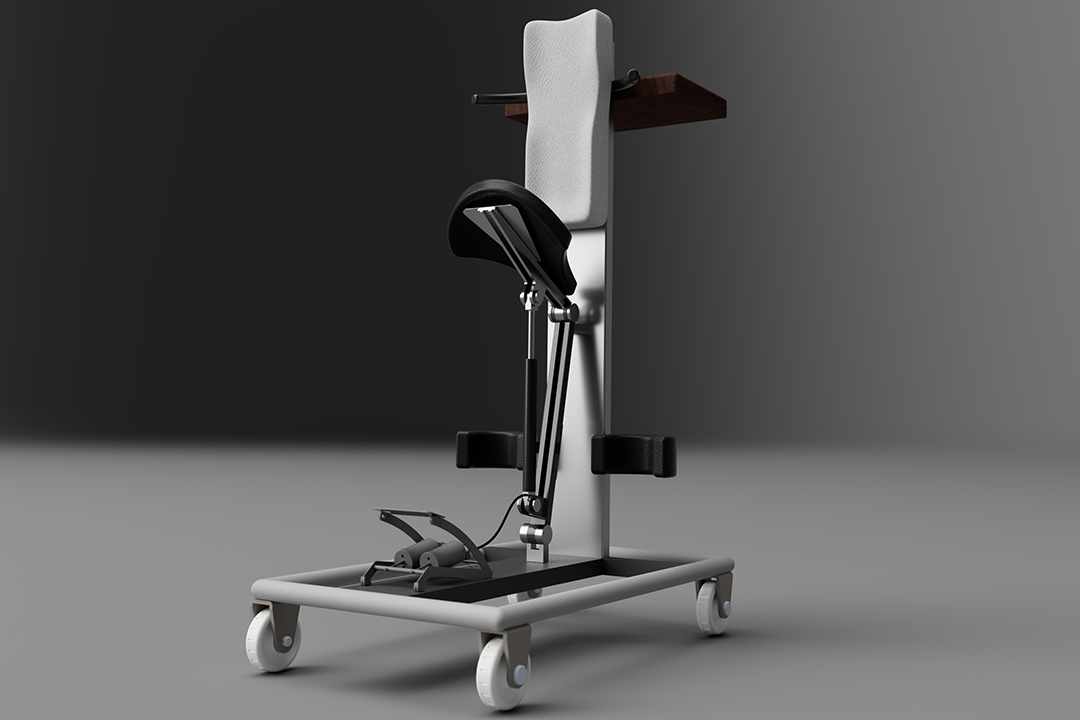 A device that assists people with standing.