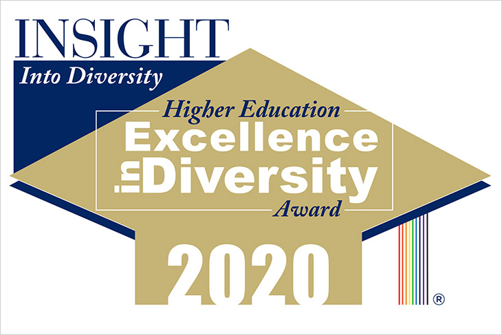 INSIGHT Into Diversity announcing 2020 Higher Education Excellence in Diversity Award