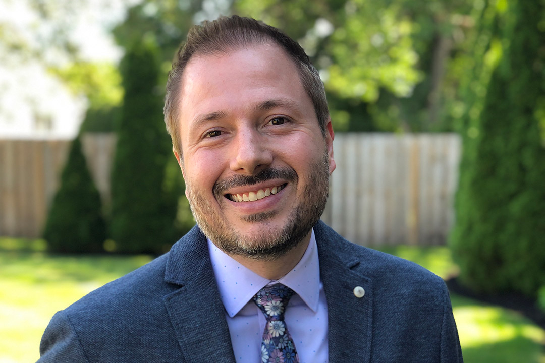 professor Matt Huenerfauth.