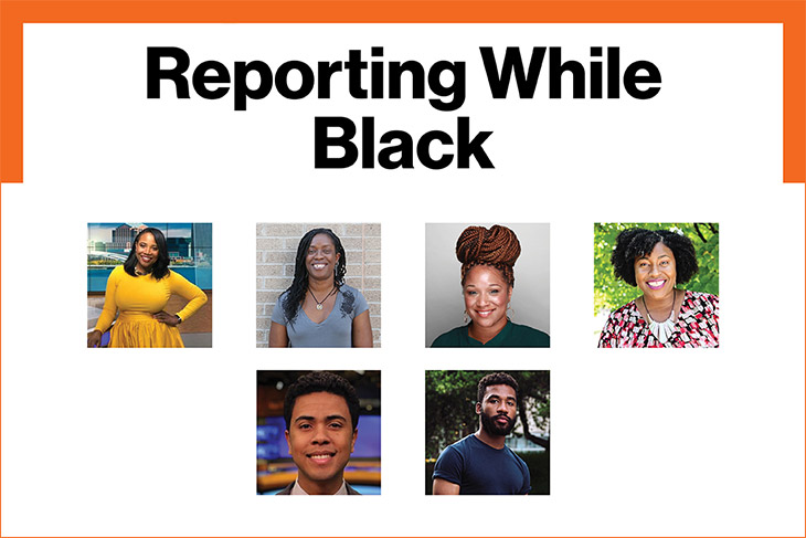 "journalists who will be in attendance at the ""Reporting While Black"" event"